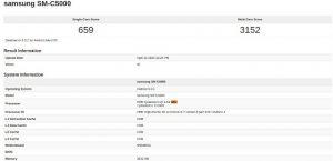 Samsung SM-C5000 con procesador Snapdragon 617 visto en los puntos de referencia