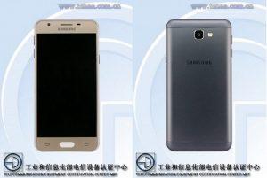 Samsung SM-G5510 con escáner de huellas dactilares detectado en TENAA