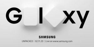 Samsung lanza el teaser 'Change the shape of the future' para el evento Unpacked