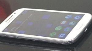 Samsung Z2 ejecutando fugas de Tizen en imágenes en vivo