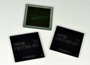Samsung anuncia DRAM móvil LPDDR3 de ultra alta velocidad de 4 Gb