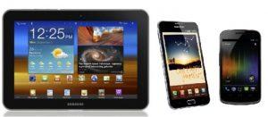 Samsung anuncia Galaxy Note, Galaxy Nexus y Galaxy Tab 8.9 LTE en Corea
