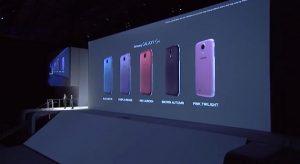 Samsung anuncia cinco nuevas opciones de color para Galaxy S4