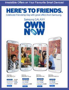 Samsung anuncia descuentos en dispositivos Galaxy para el Día de la Amistad