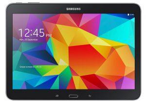 Las especificaciones de la tableta Samsung de 10.5 pulgadas incluyen Snapdragon 801, Android Kitkat y pantalla Super AMOLED