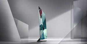Samsung anuncia un televisor QLED 8K verdaderamente sin bisel en CES 2020