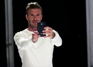 Samsung apuesta por David Beckham para promocionar el Galaxy Note