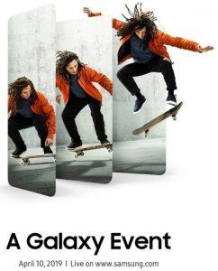 Samsung celebrará el 'A Galaxy Event' el 10 de abril