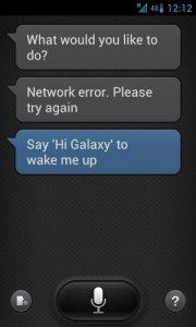 Samsung comienza a bloquear las consultas no oficiales de S-Voice de la aplicación filtrada