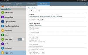 Samsung comienza a implementar actualizaciones de KitKat para el Galaxy Note 10.1 (edición 2014)