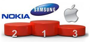 Samsung destrona a Nokia para convertirse en el mayor fabricante de teléfonos del mundo, según Strategy Analytics