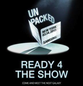 Samsung invita a la prensa a 'venir y conocer' el Galaxy S IV el 14 de marzo