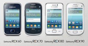 Samsung lanza la serie REX de teléfonos con funciones