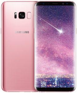 Samsung lanza la variante de color rosa rosa del Galaxy S8 +
