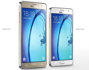 Samsung presenta los teléfonos inteligentes Galaxy On5 y Galaxy On7 en China