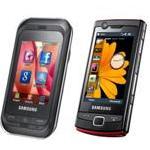 Samsung lanza teléfonos con pantalla táctil - Samsung Champ y Omnia Lite