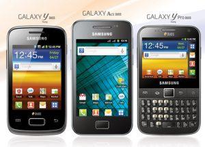 Samsung lanza teléfonos inteligentes Android con doble SIM