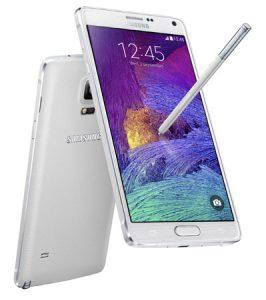 Samsung Galaxy Note 4 con pantalla Quad HD de 5.7 pulgadas y procesador Snapdragon 805 lanzado en India por Rs.  58300