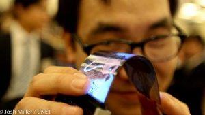 Samsung planea exhibir una pantalla HD flexible de 5.5 pulgadas en CES 2013