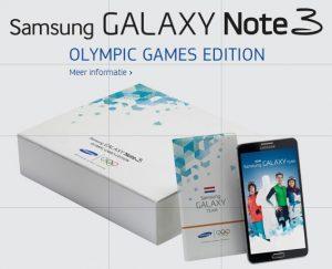 Samsung presenta Galaxy Note 3 Olympic Games Edition