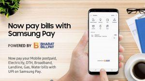 Samsung presenta 'Pagos de facturas' en Samsung Pay en India