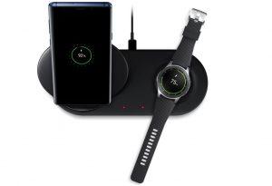 Samsung presenta Wireless Charger Duo que carga dos dispositivos a la vez