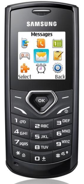 Samsung presenta el teléfono Guru 1175 con capacidades FM mejoradas