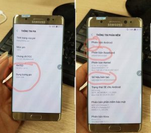 El Samsung Galaxy Note 7R reacondicionado recibe la certificación de la FCC