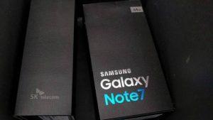 La imagen filtrada de la caja minorista confirma las especificaciones del Galaxy Note7 antes del lanzamiento