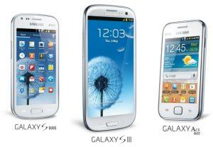 Samsung reduce el precio de Galaxy Note, Galaxy S III, Galaxy Ace Duos y Galaxy S Duos