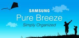"""Samsung tiene una nueva interfaz de usuario de Android llamada """"Pure Breeze"""""""