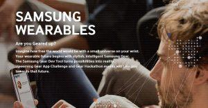 Samsung tienta a los desarrolladores con un premio de $ 1.2 millones por diseñar aplicaciones de reloj inteligente