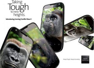 Se anuncia Corning Gorilla Glass 5 con un rendimiento mejorado contra caídas y resistencia al daño