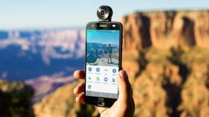 Se anuncia Moto 360 Camera Mod, que permite capturar imágenes en vivo de 360 grados