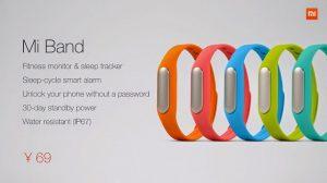 Se anuncia Xiaomi Mi Band con batería de larga duración y sensores de seguimiento de salud