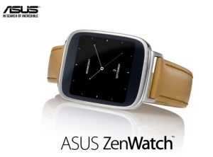 Se anuncia el Asus ZenWatch con pantalla curva de 1,63 pulgadas