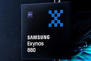 Se anuncia el chipset Samsung Exynos 880 5G para teléfonos inteligentes de gama media