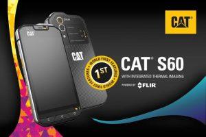 Se anuncia el primer teléfono inteligente Cat S60 del mundo con cámara termográfica