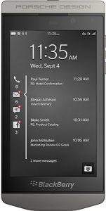 Se anuncia el smartphone BlackBerry Porsche Design con BlackBerry 10.2