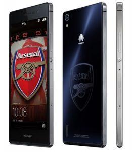 Se anuncia el teléfono inteligente Huawei Ascend P7 Arsenal Edition