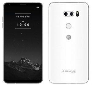 Se anuncia el teléfono inteligente LG Signature Edition 2018, con cuerpo de cerámica, pantalla OLED QHD + de 6 pulgadas y almacenamiento de 256 GB