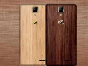 Se anuncia el teléfono inteligente Micromax Canvas 5 Lite de edición especial con acabado de madera
