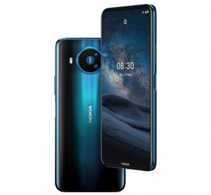 Se anuncia el teléfono inteligente Nokia 8.3 5G con chipset Snapdragon 765G y 8 GB de RAM