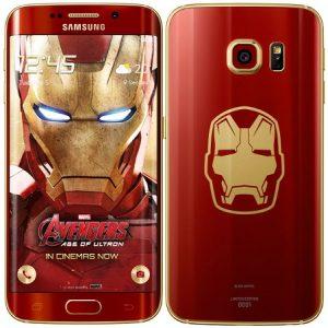 Se anuncia el teléfono inteligente Samsung Galaxy S6 Edge Iron Man Limited Edition
