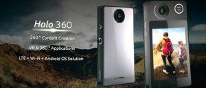 Se anuncia la cámara Acer Holo360, con videos 360, Android 7.1, 4G LTE y más