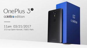Se anuncia la edición Colette OnePlus 3T completamente negra con 128 GB de almacenamiento