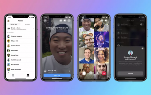 Se anuncia la función de videollamadas grupales de Facebook Messenger Rooms