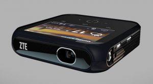 Se anuncian el proyector ZTE Projector Hotspot full HD y LTE hotspot