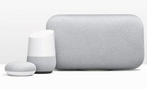 Se anuncian los altavoces inteligentes Google Home Mini y Google Home Max