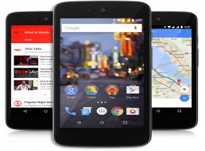 Se anuncian los nuevos teléfonos inteligentes Android One